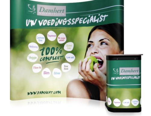 Presentatiewand Pop-up 3×3 voor Damhert