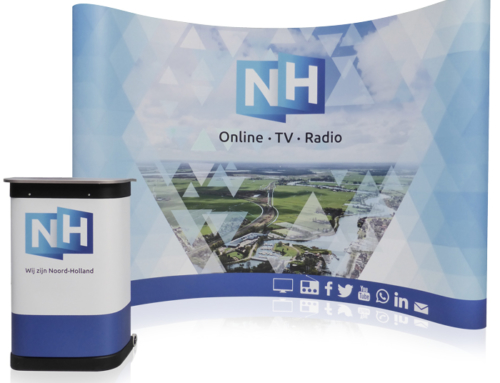 Presentatiewand Pop-up 4×3 Premium voor RTV NH