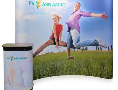 Presentatiewand Pop-up 3×3 Premium voor ABN AMRO
