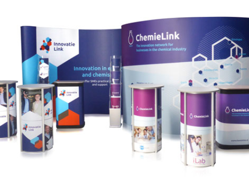 Pop-up Stand voor Innovatie Link en ChemieLink