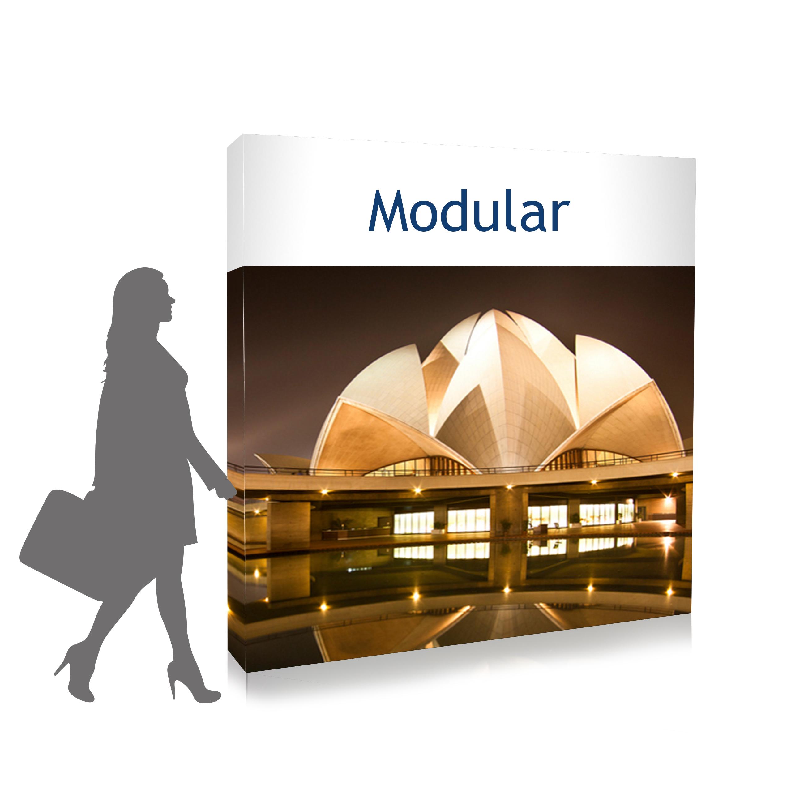 presentatiewand modular